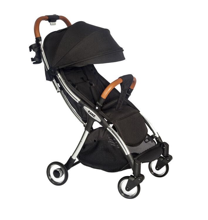 Kanz - Kanz c-Go Pratik Otomatik Katlanan Bebek Arabası Siyah