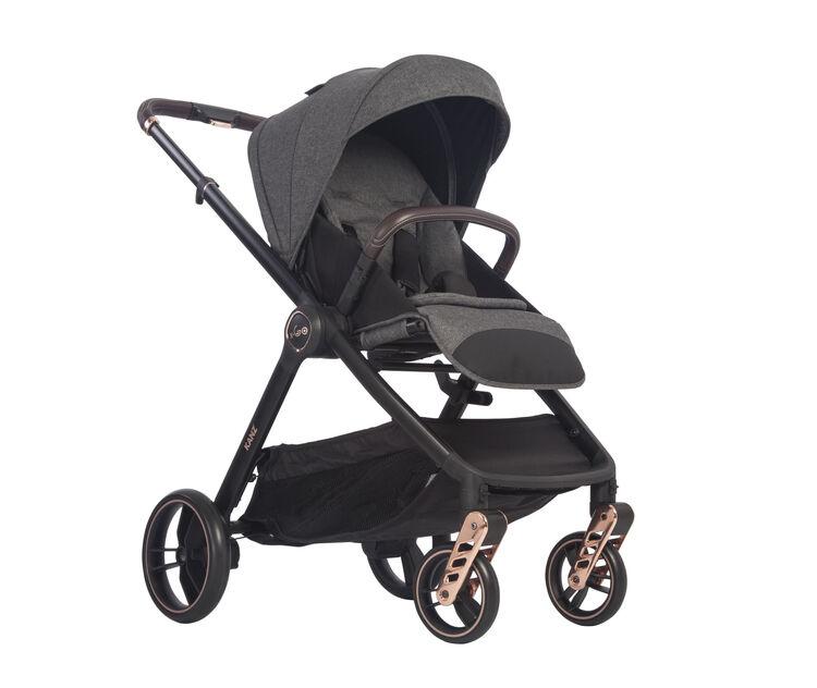 Kanz - Kanz x-Go Rose Gold Seyahat Sistem Bebek Arabası Gri