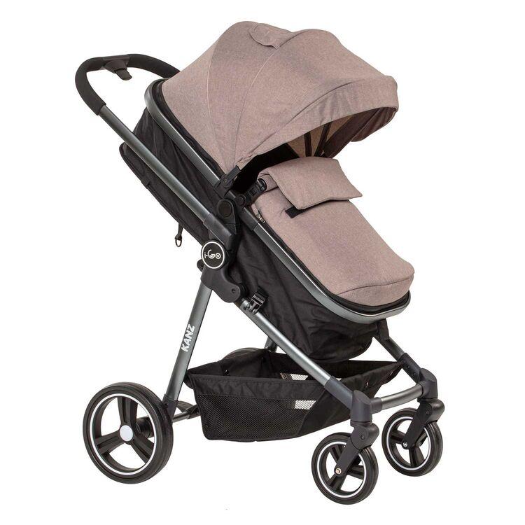 Kanz - Kanz I-Go Travel Sistem Bebek Arabası Kahverengi