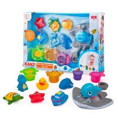 Kanz - Kanz Oyuncak Minik Banyo Arkadaşlarım Oyun Seti