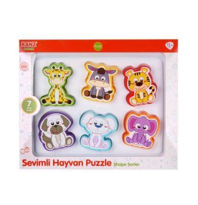 Kanz - Kanz Sevimli Hayvanlar Puzzle