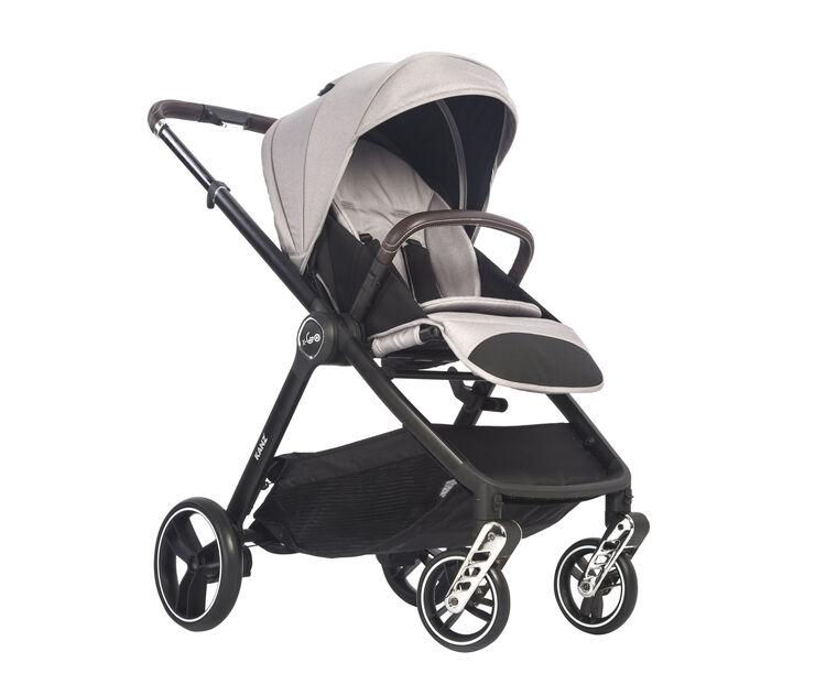 Kanz - Kanz x-Go Silver Seyahat Sistem Bebek Arabası Gri