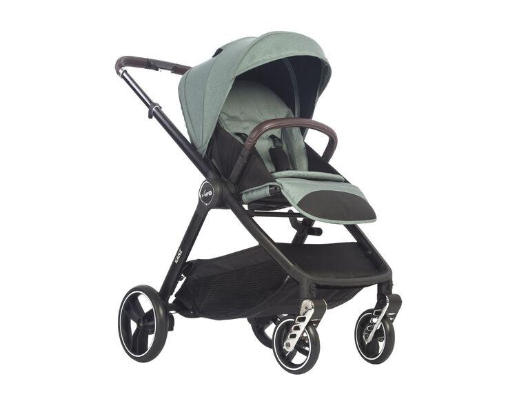 Kanz - Kanz x-Go Silver Seyahat Sistem Bebek Arabası Yeşil