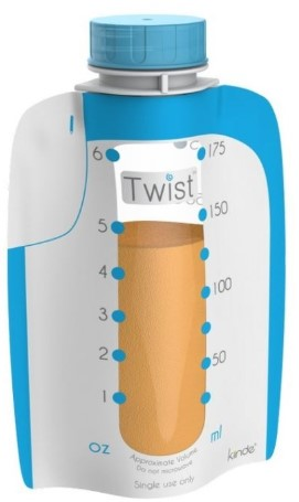 Kiinde - Kiinde Twist Pouche Süt Saklama Poşeti 40'lı