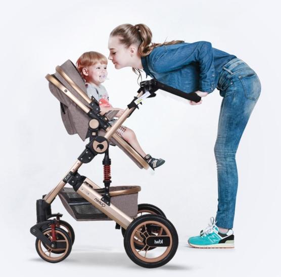 Kiwi Queen 3 İn 1 Travel Sistem Bebek Arabası Gri - Thumbnail