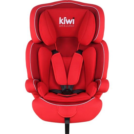 Kiwibaby - Kiwi Safe&Comfort Smart 9-36 Kg Oto Koltuğu Kiremit(Kırmızı) F10