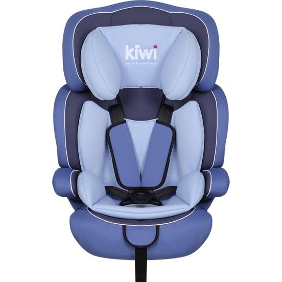 Kiwibaby - Kiwi Safe&Comfort Smart 9-36 Kg Oto Koltuğu Mavi E90