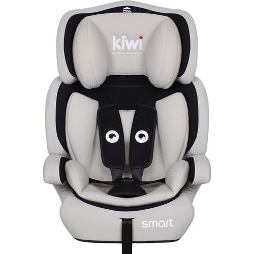 Kiwibaby - Kiwi Safe&Comfort Smart 9-36 Kg Oto Koltuğu Gri