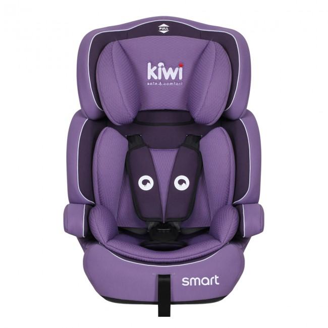 Kiwibaby - Kiwi Safe&Comfort Smart 9-36 Kg Oto Koltuğu Mor