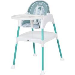 Kiwibaby - Kiwibaby Mama Sandalyesi Üçü Bir Arada Multi Mama Sandalyesi Yeşil Desenli