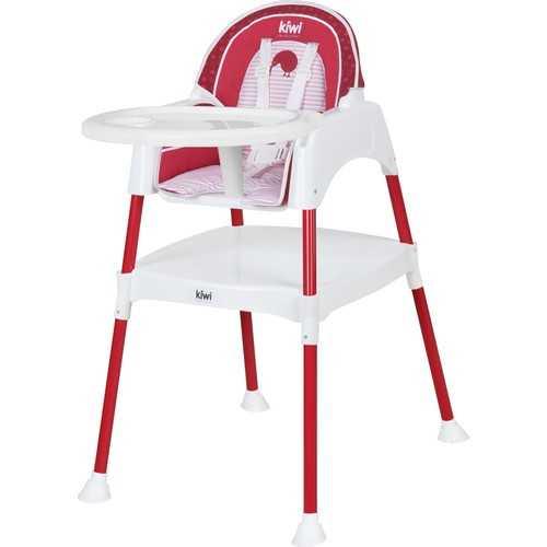 Kiwibaby Mama Sandalyesi Üçü Bir Arada Multi Mama Sandalyesi Kırmızı Desenli