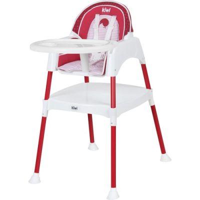 Kiwibaby - Kiwibaby Mama Sandalyesi Üçü Bir Arada Multi Mama Sandalyesi Kırmızı Desenli