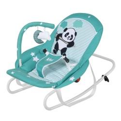 Kiwibaby - Kiwibaby Sweet Dreams Sallanabilir Ana Kucağı & Anadizi D70 Panda / Yeşil