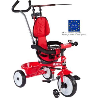 Kraft - Kraft İtmeli Koltuğu Dönerli Bisiklet Kırmızı