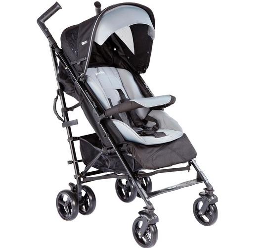 Kraft - Kraft London Plus Baston Bebek Arabası- Gri