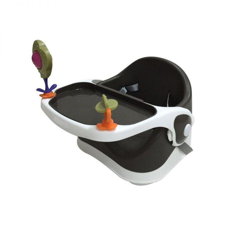 Kraft - Kraft Oyuncaklı Booster Portatif Mama Sandalyesi Siyah