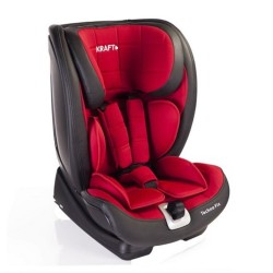 Kraft - Kraft Techno Fix Oto Koltuğu 9-36 Kg Kırmızı