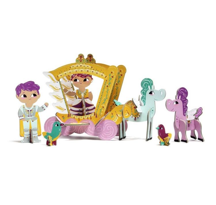 Krooom - Krooom Prenses Iris - 3D Oyun Seti