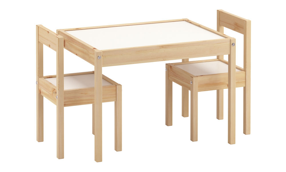 Kukka Ahşap Masa & Sandalye Seti
