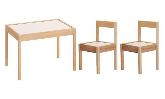 Kukka Ahşap Masa & Sandalye Seti - Thumbnail