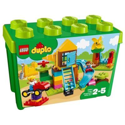 Lego - Lego Duplo Büyük Boy Oyun Parkı Yapım Kutusu
