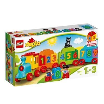 Lego - Lego Duplo Sayı Treni