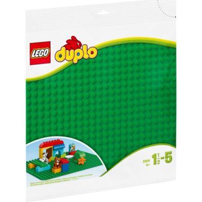 Lego - LEGO® DUPLO® Geniş Yeşil Bina Plaka