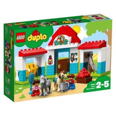 Lego - Lego Duplo Çiftlik Midilli Ahırı