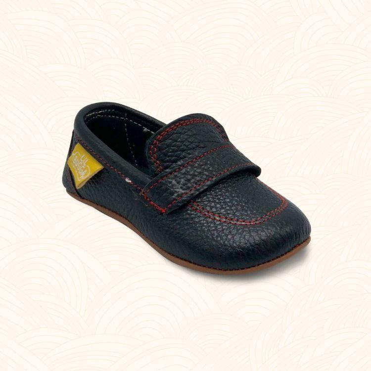 Lilbugga - Lilbugga BRO Çocuk Ayakkabısı Siyah