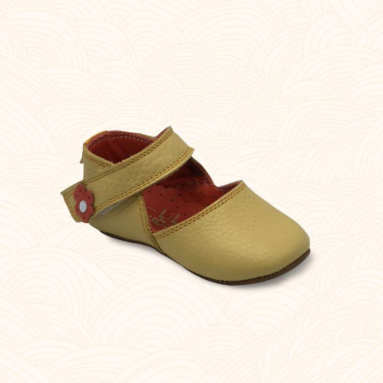 Lilbugga - Lilbugga DOTTİR Çocuk Ayakkabısı Sarı