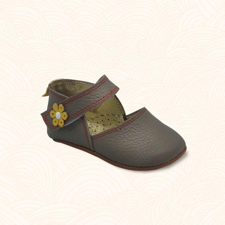 Lilbugga - Lilbugga DOTTİR Çocuk Ayakkabısı Bej