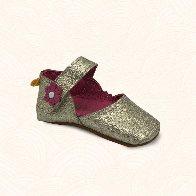 Lilbugga - Lilbugga DOTTİR Çocuk Ayakkabısı Dore