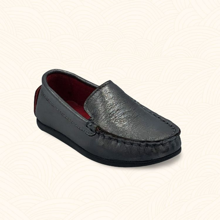 Lilbugga - Lilbugga JUSTİN Çocuk Ayakkabısı Gümüş
