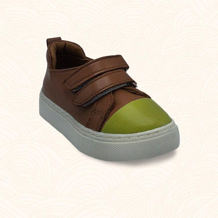 Lilbugga - Lilbugga ROMEO Çocuk Ayakkabısı Kahve