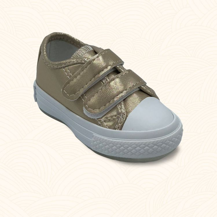 Lilbugga - Lilbugga SPİKY Çocuk Ayakkabısı Gold