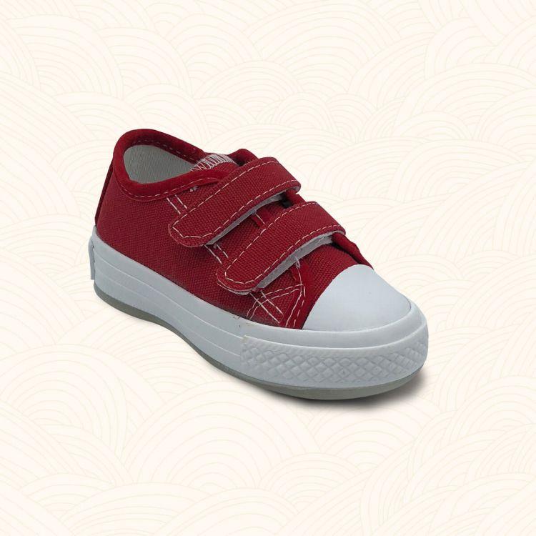 Lilbugga - Lilbugga SPİKY Çocuk Ayakkabısı Kırmızı