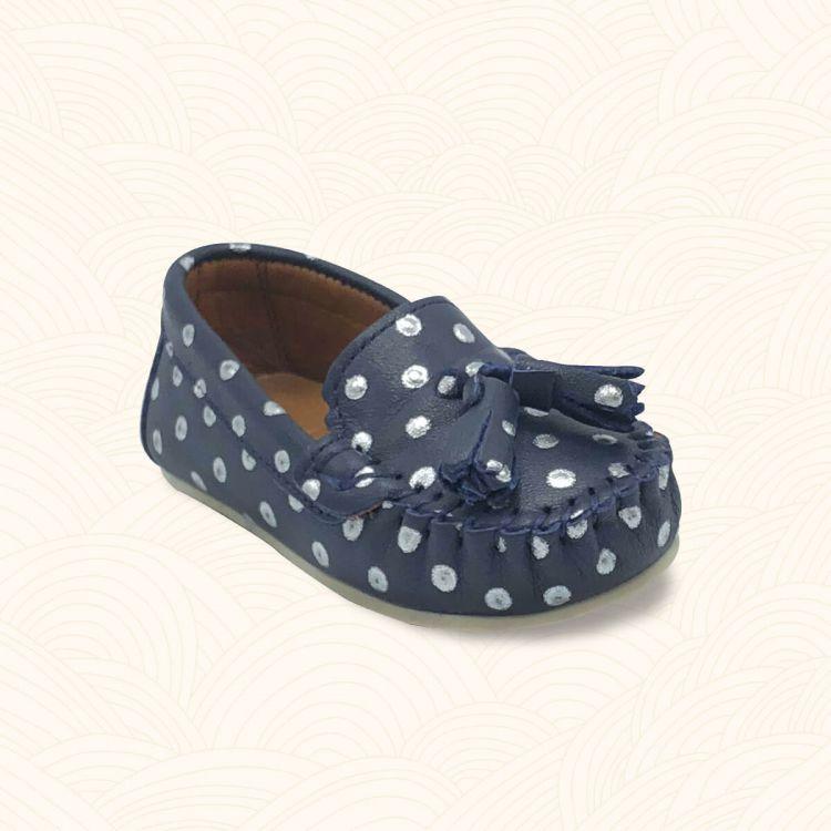 - Lilbugga YUMMY Çocuk Ayakkabısı Lacivert Puanlı