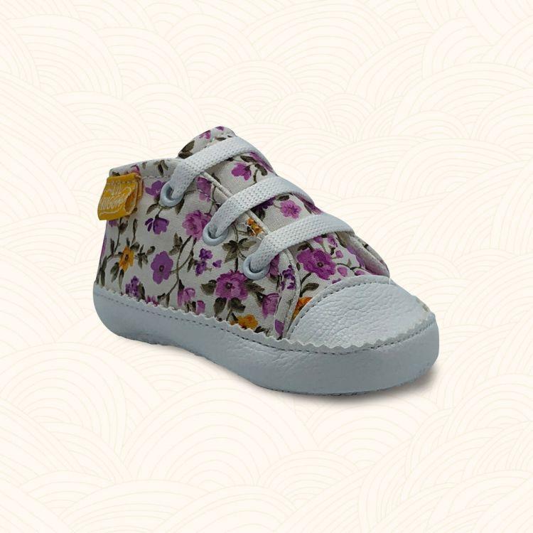 Lilbugga - Lilbugga ZUZU Çocuk Ayakkabısı Çiçekli