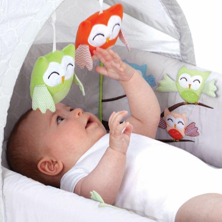 LulyBoo - LulyZoo Taşınabilir Bebek Yatağı-Baykuş