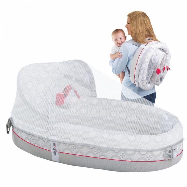 LulyBoo - LulyBoo Taşınabilir Bebek Yatağı-Işıklı ve Müzikli