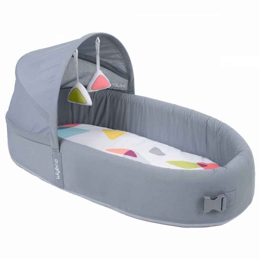 LulyBoo Taşınabilir Bebek Yatağı- Metro Gri