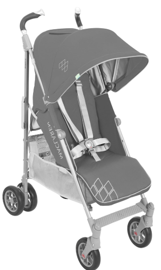 Maclaren - Maclaren Techno Xt Bebek Arabası Charcoal Silver