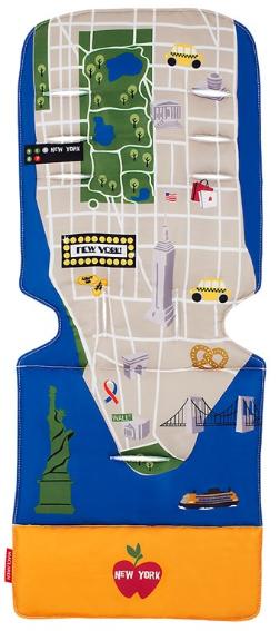 Maclaren - Maclaren Universal Liner New York City Map İç Ped