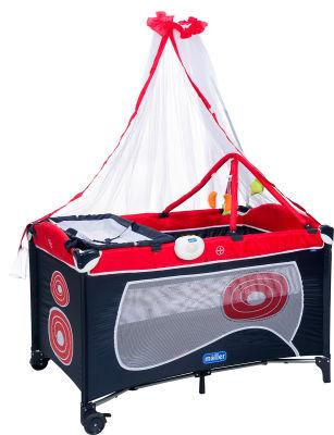 MallerBaby - Maller Baby Dormire Oyun Parkı Kırmızı