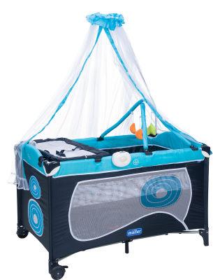 MallerBaby - Maller Baby Dormire Oyun Parkı Mavi