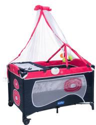MallerBaby - Maller Baby Dormire Oyun Parkı Pembe