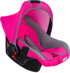 MallerBaby - Maller Baby Ergo-L 0-13kg Taşıma Fuşya Gri