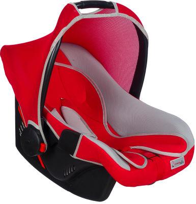 MallerBaby - Maller Baby Ergo-L 0-13kg Taşıma Kırmızı Gri