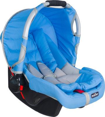 MallerBaby - Maller Baby Flexi 0-13kg Taşıma Açık Mavi Gri