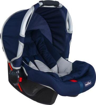 MallerBaby - Maller Baby Flexi 0-13kg Taşıma Lacivert Gri
